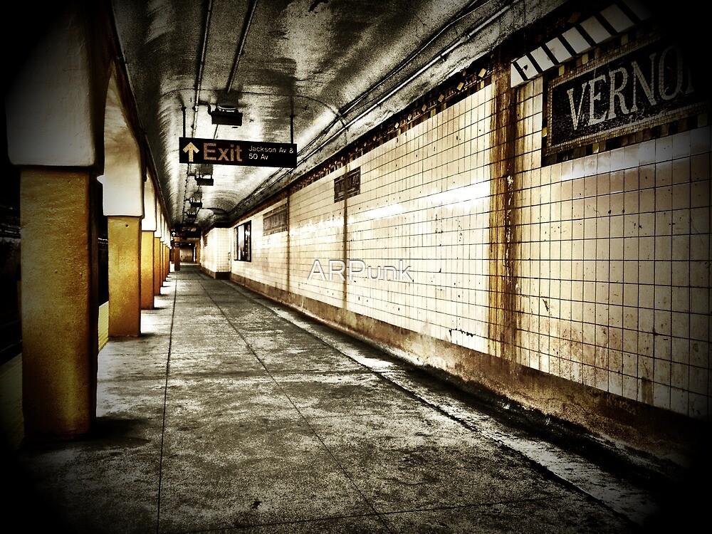 NYC Subway - Long Island City by ARPunk