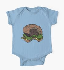 tasty burger Baby Body Kurzarm
