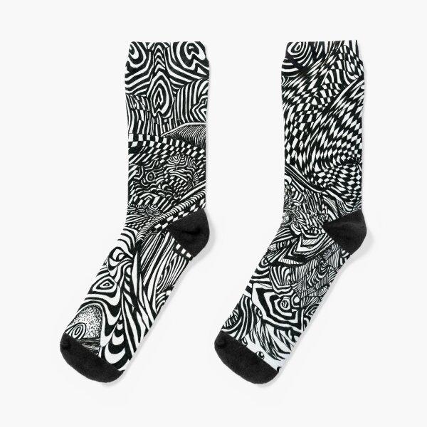 Liquid Skull Socks