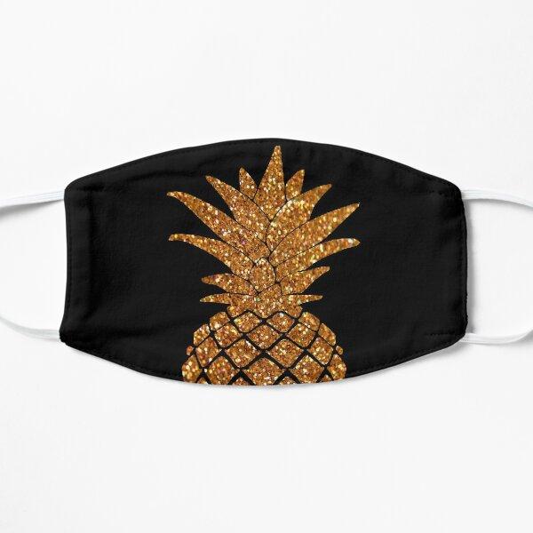 Golden Pineapple - Gold Glitter Pineapple  Mask