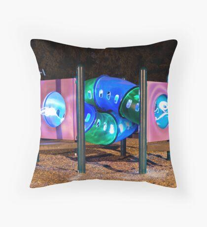 Tunnels Throw Pillow