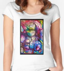 Space Ape Women's Fitted Scoop T-Shirt