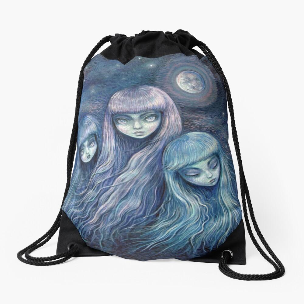 Sisters of the Moon Drawstring Bag