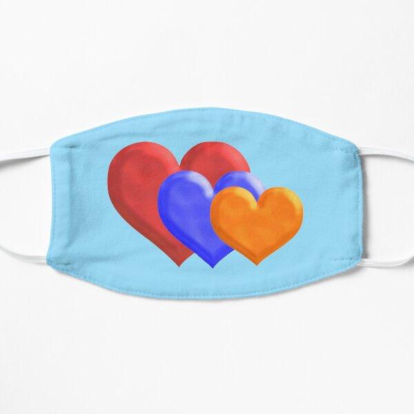 The Tricolor Heart  Եռագույն սիրտը Flat Mask