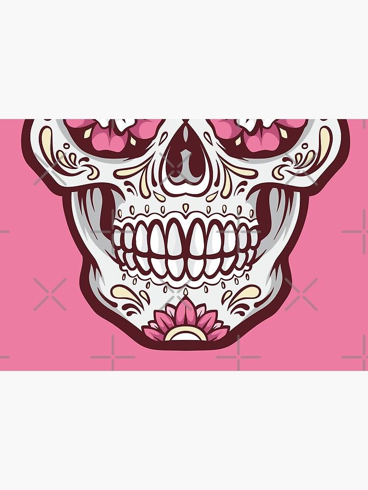 Sugar Skull Face Mask by ninthstreet