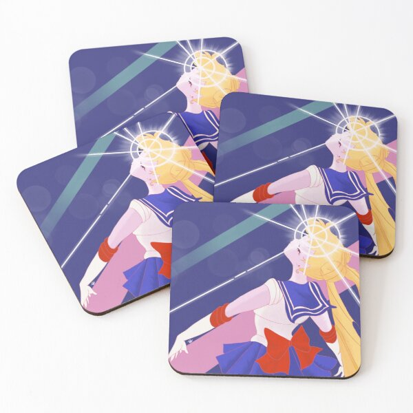 Moon Princess Coasters (Set of 4)