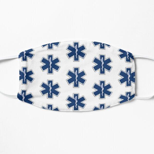 Paramedic Star of Life Flat Mask