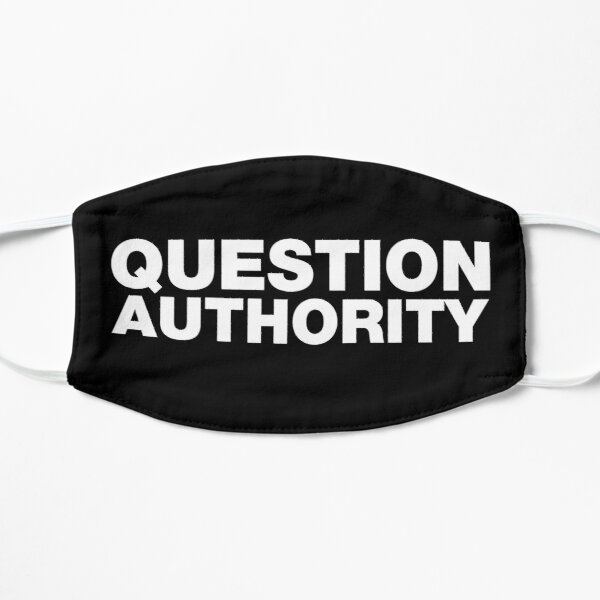 Question Authority Mask