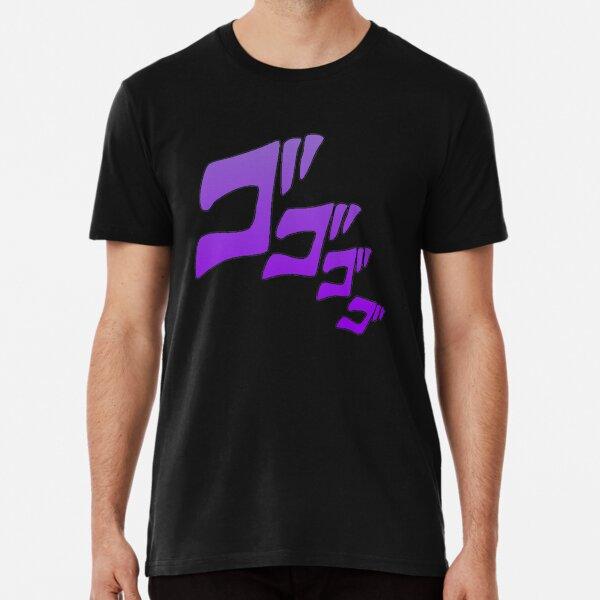 JoJo Menacing Effect Premium T-Shirt