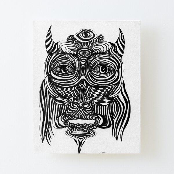 Spirit Owl Canvas Mounted Print