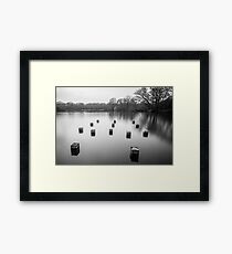 Connaught Water Framed Print