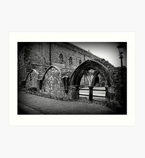 The Priory, Carlisle Cathedral. Art Print