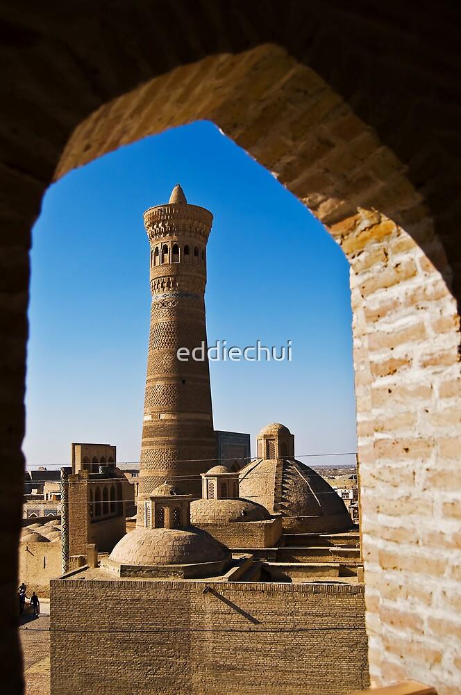 Kalyan Minaret & Trading Domes by eddiechui