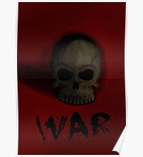 War Skull Poster