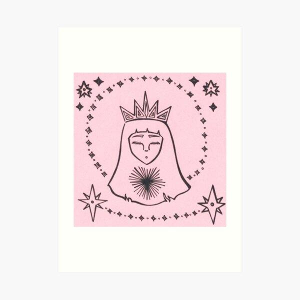 Star Queen Art Print