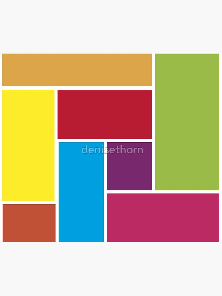 Colorful Blocks by denisethorn