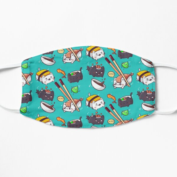 Sushi cats Flat Mask