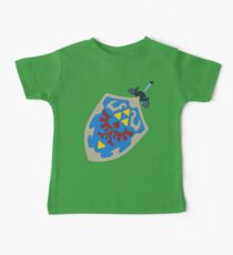 Hylian Shield and Master sword Kids Clothes