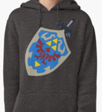 Hylian Shield and Master sword Pullover Hoodie