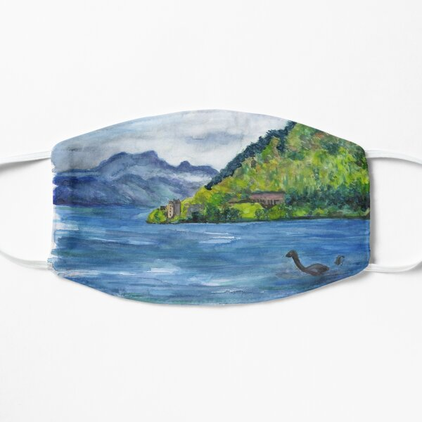 Loch Ness (with Nessie) Small Mask