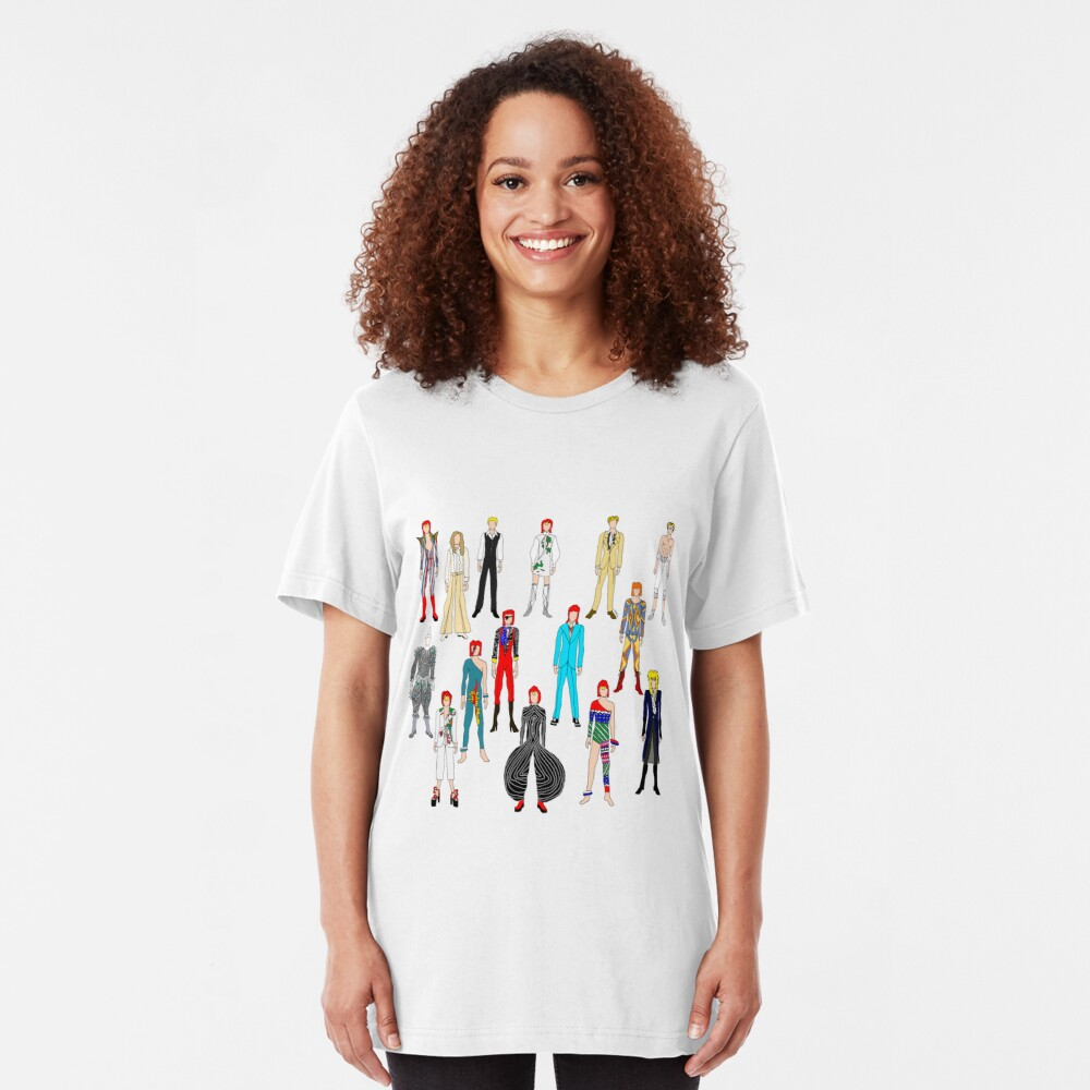 Heroes Scattered Slim Fit T-Shirt