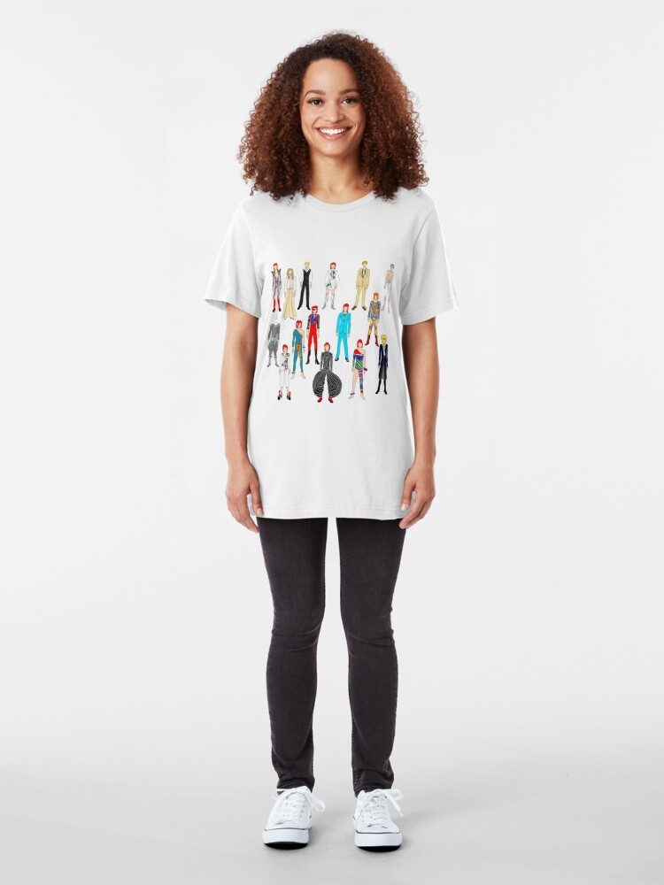 Alternate view of Heroes Scattered Slim Fit T-Shirt