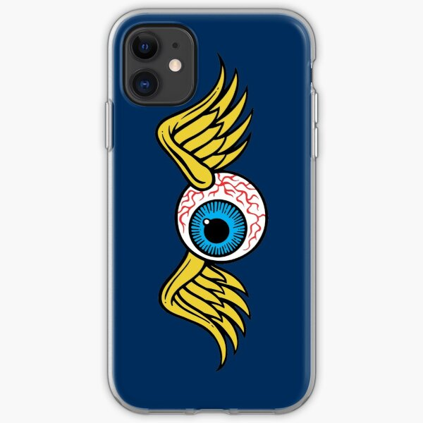 Flying Eyeball iPhone Soft Case