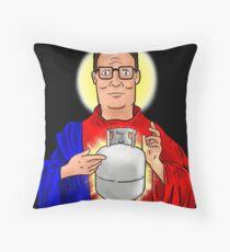 The Propane Savior  Throw Pillow