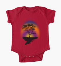 Sunset Trees Kids Clothes