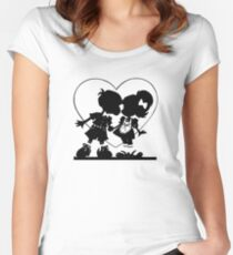 Valentine Kiss Women's Fitted Scoop T-Shirt