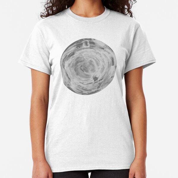 black and white sphere Classic T-Shirt