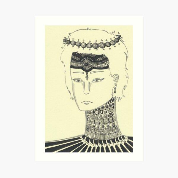 Prince Of Pearls Art Print