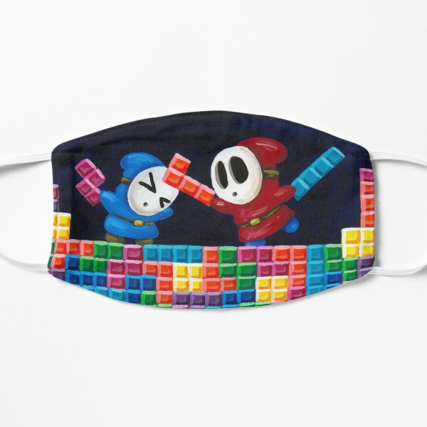 Tetris Guys Mask