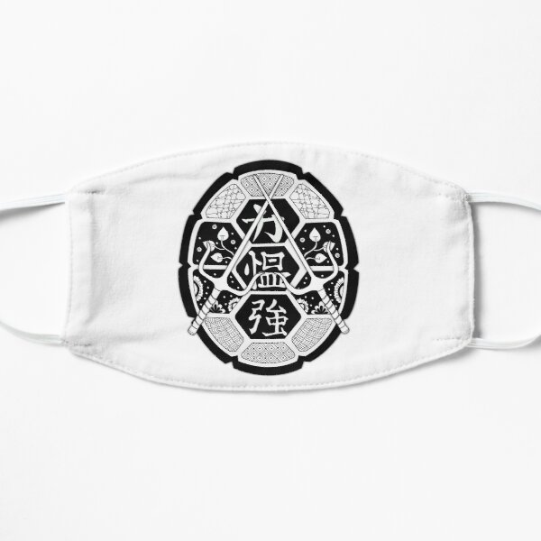 TMNT Shell Mandala Black Small Mask