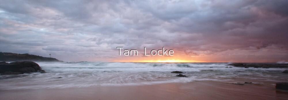 Pebbly Sunrise by Tam  Locke