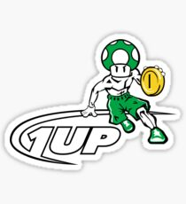 And 1 Up Sticker