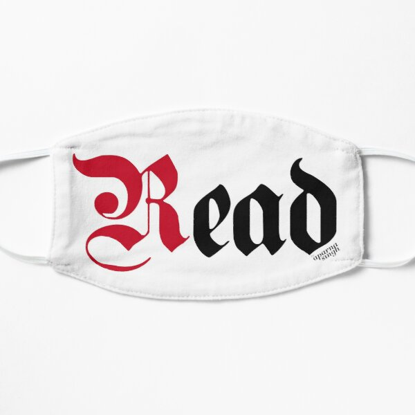 Read Typography Lettering Art Mask