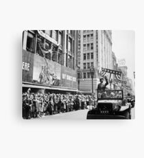 General Patton - Ticker Tape Parade Canvas Print