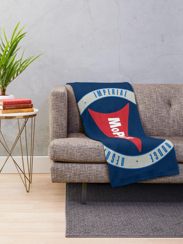 Alternate view of Mopar Throw Blanket