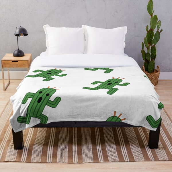 Cactuar  Throw Blanket