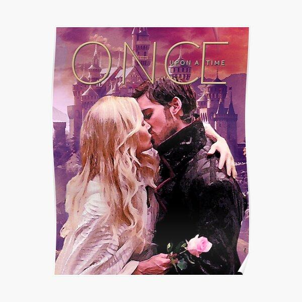 Captain Swan Camelot Watercolor Design 1 Poster
