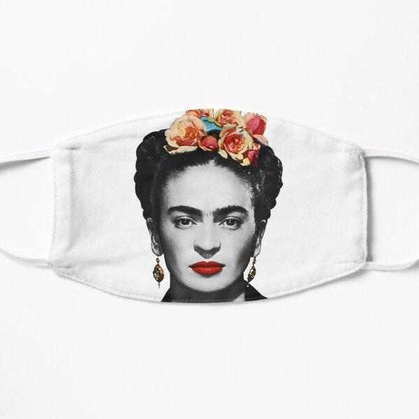 Frida Kahlo Portrait Black And White Mask