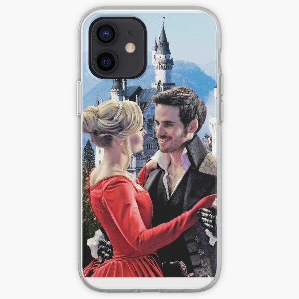 Captain Swan Fairy Tale Watercolor Design 2 iPhone Soft Case