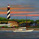 St. Augustine Light by Gordon Beck