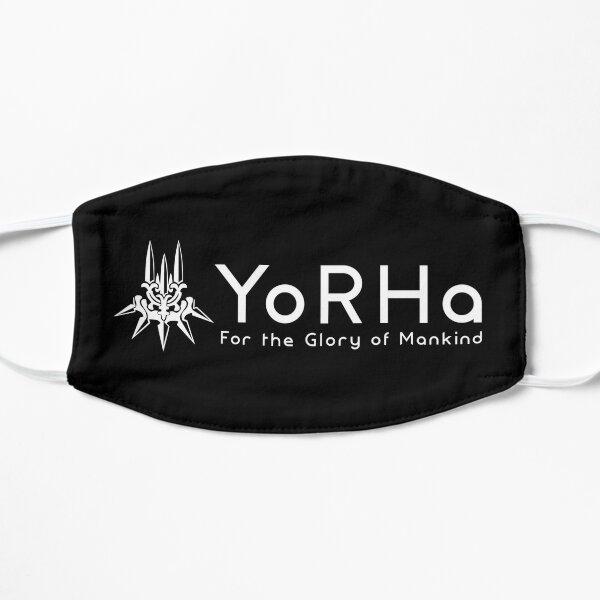 YoRHa - White Flat Mask