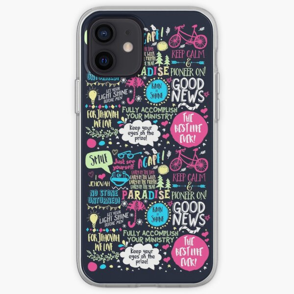Doodle Art For Pioneers iPhone Soft Case