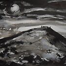 'Dinas Bran, Llangollen' by Martin Williamson (©cobbybrook)