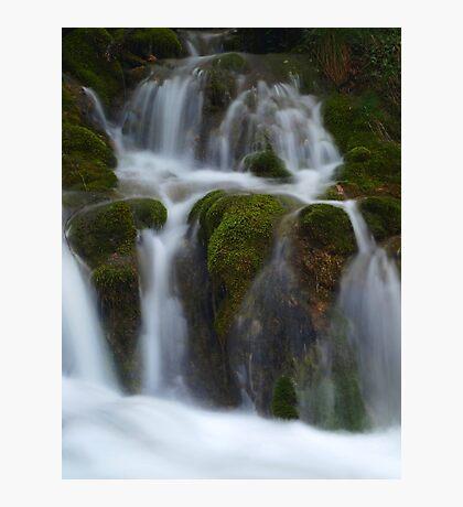 Milk Fountain Photographic Print
