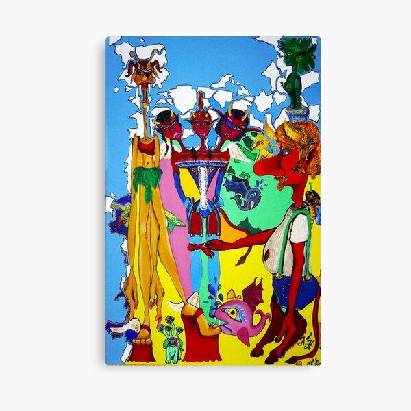 the devil's triple daughter Canvas Print