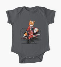 Rebell Fox Baby Body Kurzarm